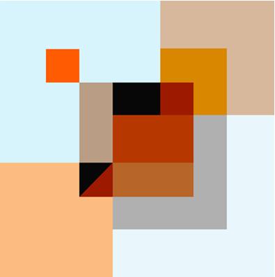 Cubique 1 76x76 cm