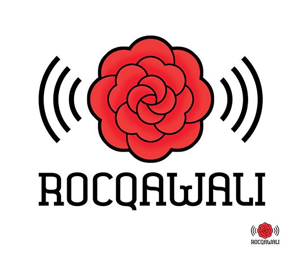 Rocqawali rose logo