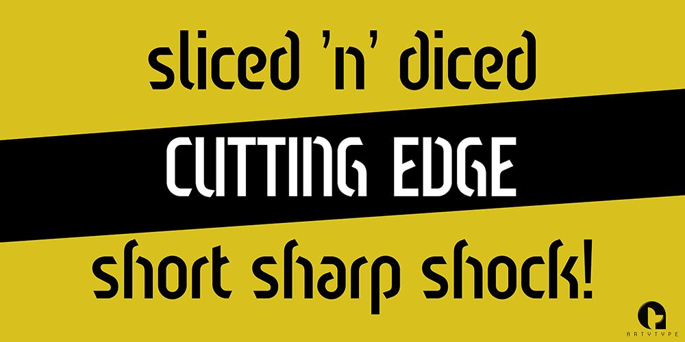 Sliced Open banner