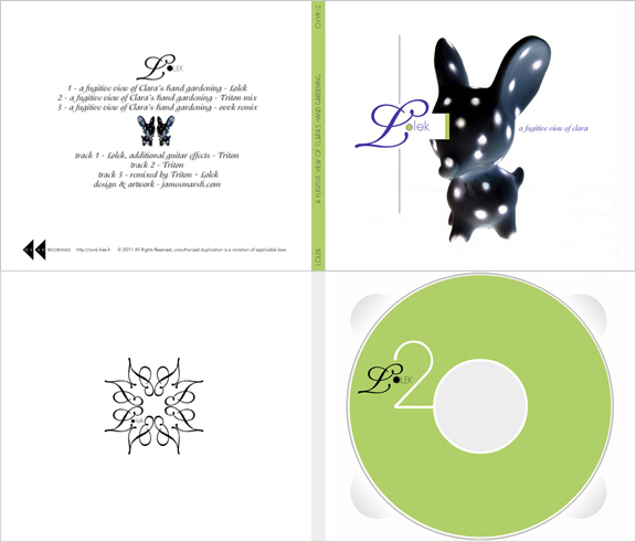 Clara single Back, Front & disc
