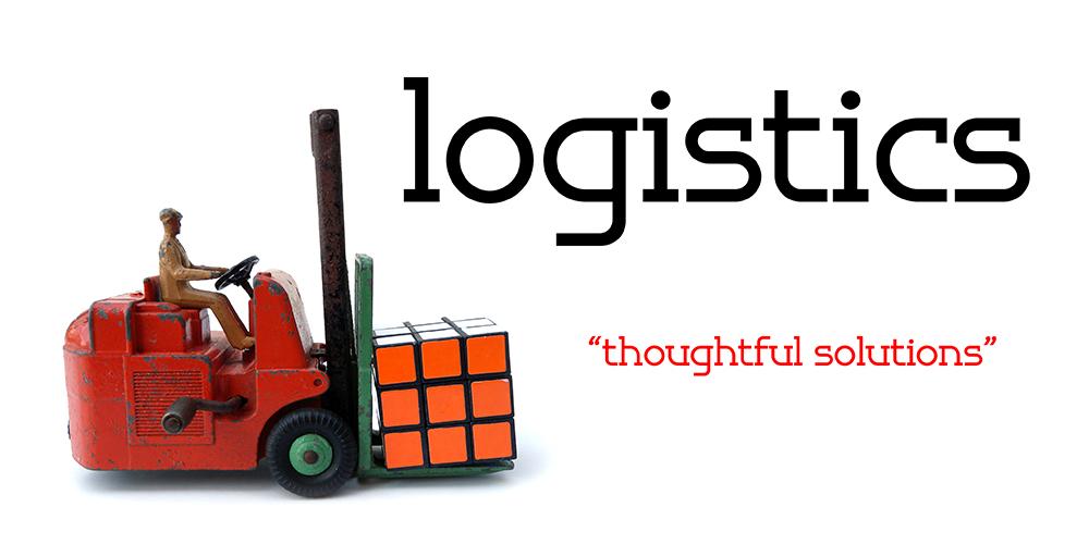 Logistics Banner serif