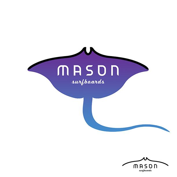 Mason surfboards behance