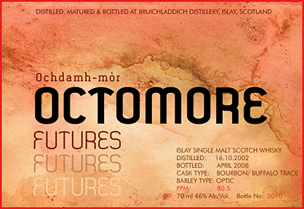 Octomore label small