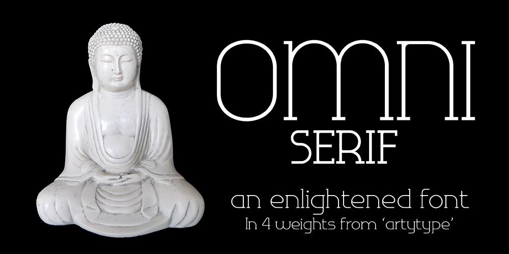 Omni Enlightened font Banner