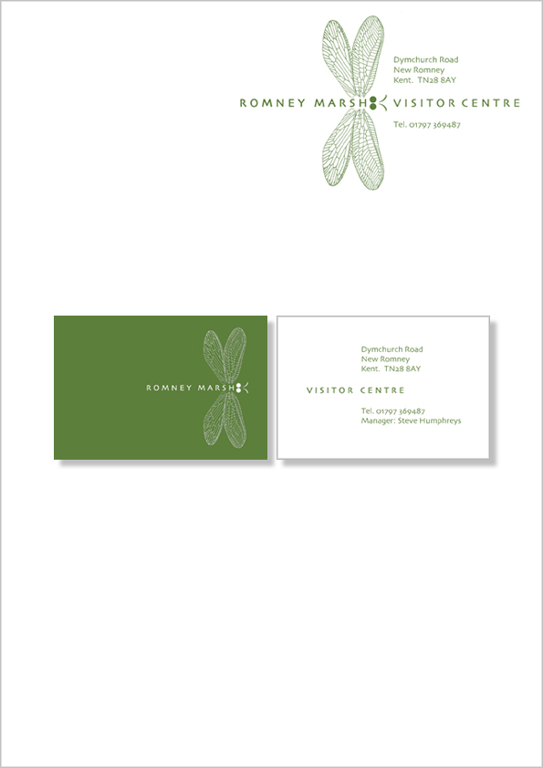 RM Letterhead & card colour