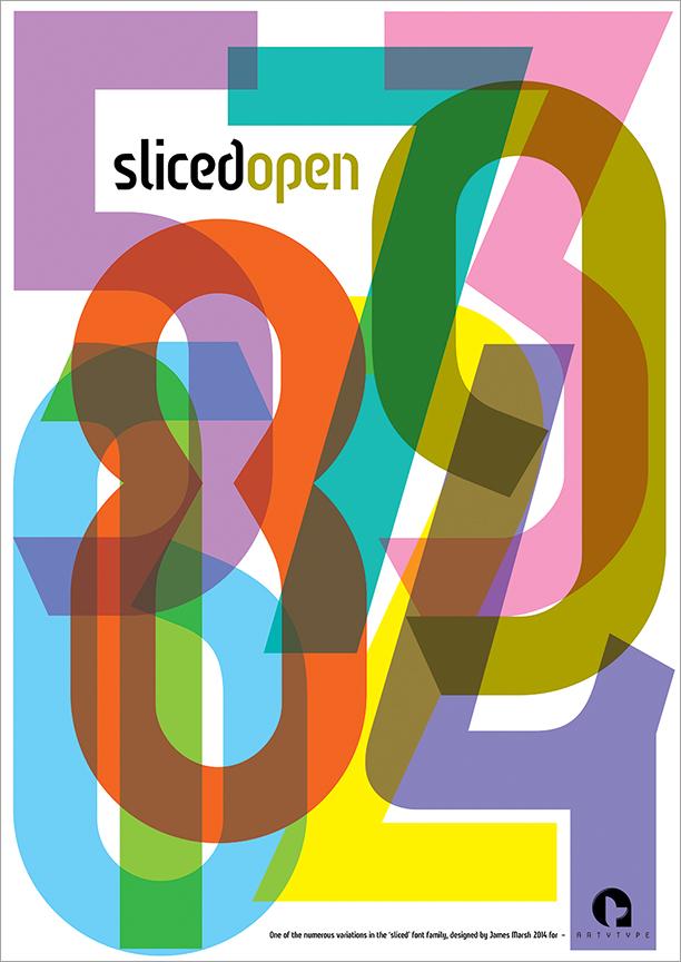 Sliced Open poster