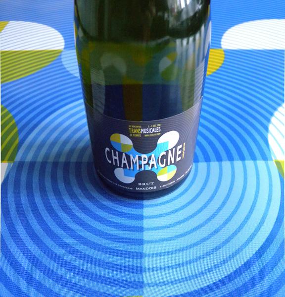 TM Champagne label