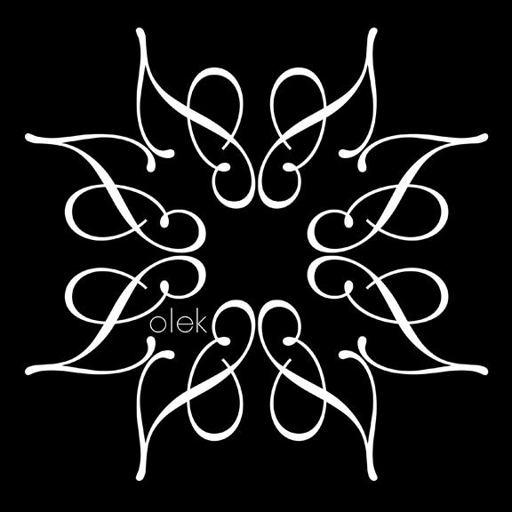 Lolek Logo repeat B&W inv