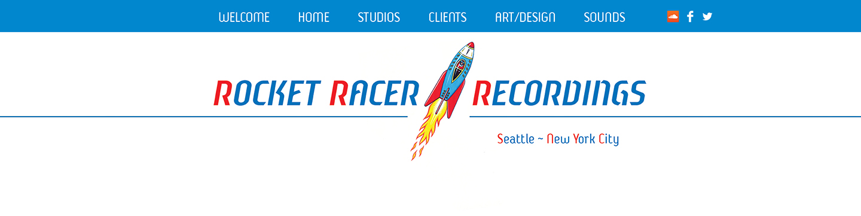 RR Recordings landing page 2