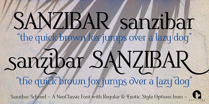 Sanzibar Schreef 2 styles