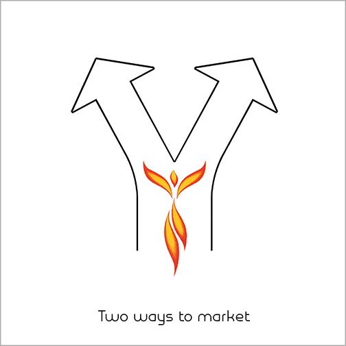 2 ways to market
