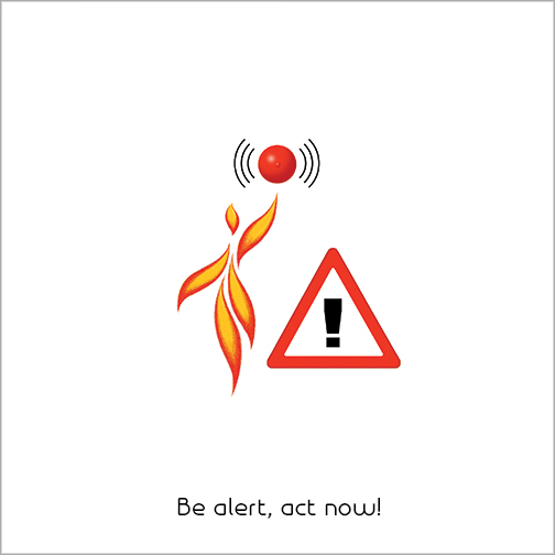 Be alert, act now!