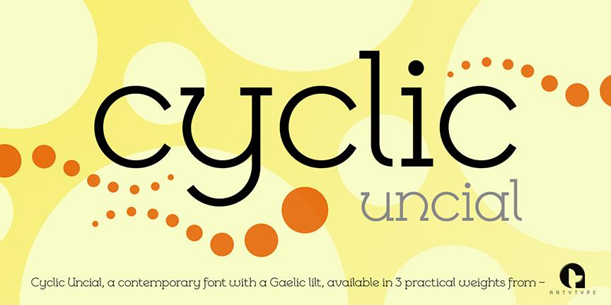 Cyclic Uncial Banner 1a
