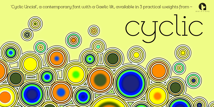 Cyclic Uncial Banner 2