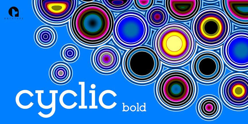 Cyclic bold Banner 2