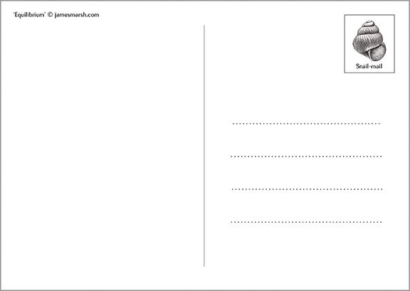 Postcard back web